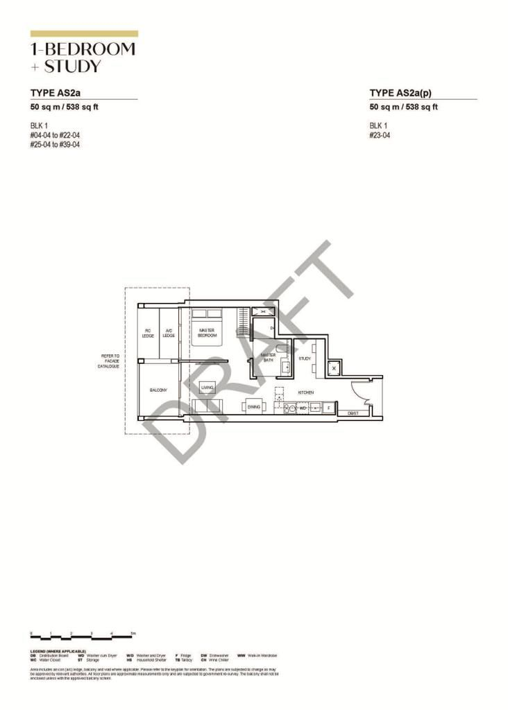 canninghill-piers-1-bedroom-study-type-as2a
